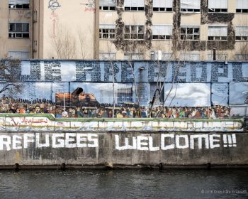 Refugees Welcome in Berlin © 2016 Sven-Kåre Evenseth