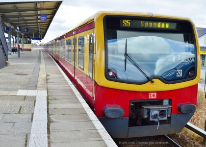 Berliner S-Bahn © 2015 Ulrich Dregler/pixabay